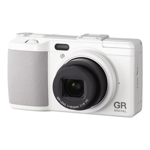 Ricoh GR Digital 4 WHITE EDITION