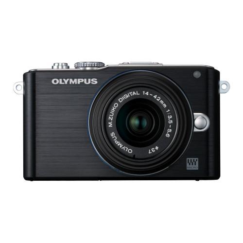 OLYMPUS PEN Lite E-PL3 レンズキット(ブラック)