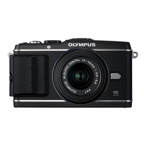 OLYMPUS PEN E-P3 レンズキット(ブラック)