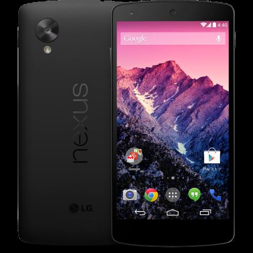 Nexus 5(32GB、ブラック)